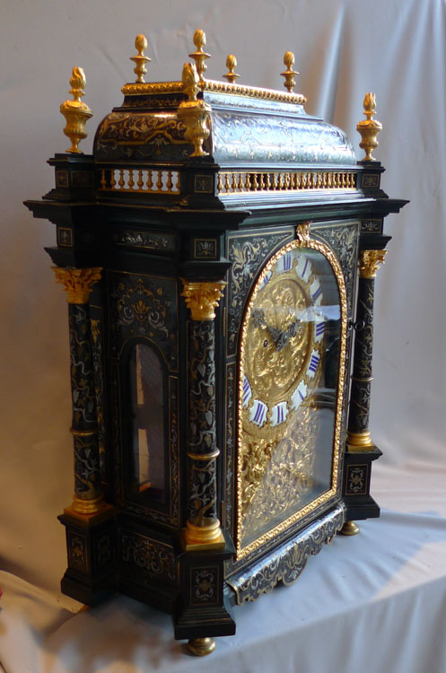 Antique English Boulle Clock By Frodsham Clockmaker To