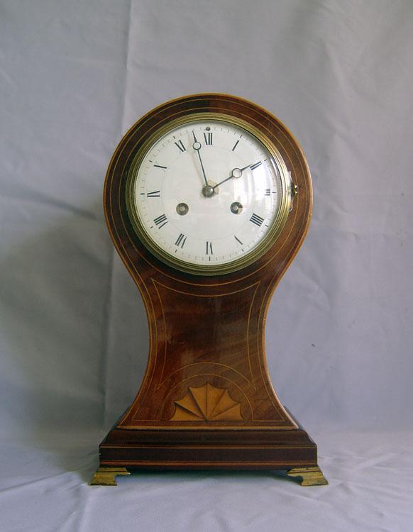 English mantel clock