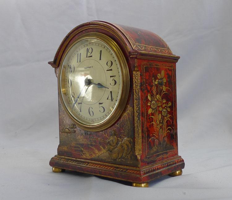 Antique edwardian mantel clocks